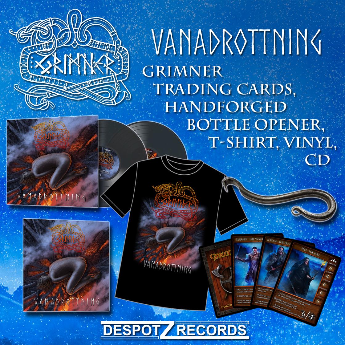 promo cd vinyl tshirt kort oppnare